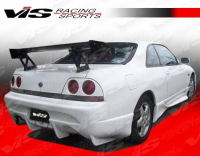 Skyline - Rear Bumper - VIS Racing - Nissan Skyline VIS Racing Invader Rear Bumper - 95NSR33GTRINV-002