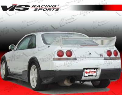 Skyline - Rear Bumper - VIS Racing - Nissan Skyline VIS Racing Terminator Rear Lip - 95NSR33GTRTM-012