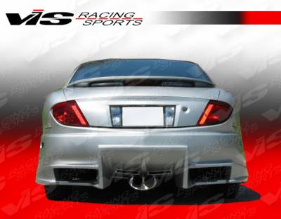 Sunfire - Rear Bumper - VIS Racing - Pontiac Sunfire VIS Racing Ballistix Rear Bumper - 95PTSUN2DBX-002