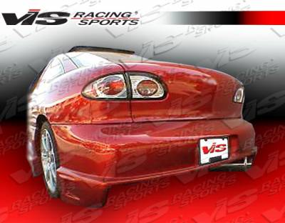 Sunfire - Rear Bumper - VIS Racing - Pontiac Sunfire VIS Racing Striker Rear Bumper - 95PTSUN2DSTR-002