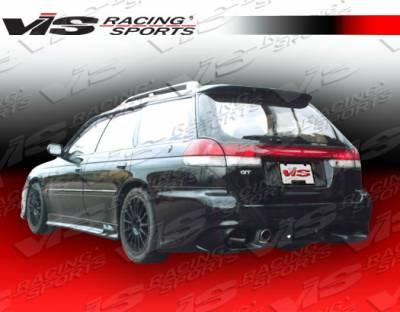 Legacy - Rear Bumper - VIS Racing. - Subaru Legacy VIS Racing Gemini Rear Bumper - 95SBLEG4DGEM-002