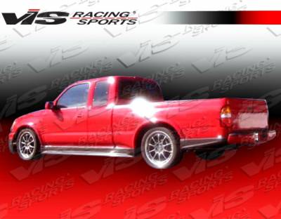 Tacoma - Rear Bumper - VIS Racing - Toyota Tacoma VIS Racing Techno R Rear Lip - 95TYTAC2DTNR-012
