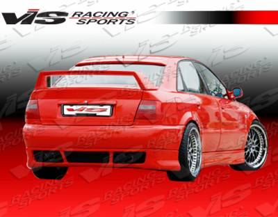 A4 - Rear Bumper - VIS Racing - Audi A4 VIS Racing R Tech Rear Lip - 96AUA44DRTH-012
