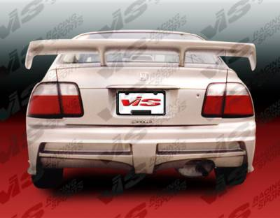 Accord 2Dr - Rear Bumper - VIS Racing - Honda Accord 2DR & 4DR VIS Racing Xtreme Rear Bumper - 96HDACC2DEX-002
