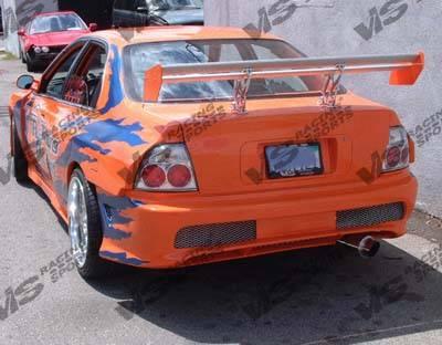 Accord 2Dr - Rear Bumper - VIS Racing - Honda Accord 2DR & 4DR VIS Racing Kombat Rear Bumper - 96HDACC2DKOM-002
