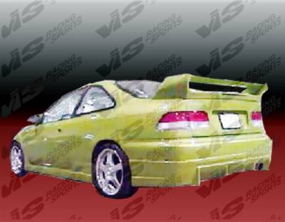 Civic 2Dr - Rear Bumper - VIS Racing - Honda Civic 2DR & 4DR VIS Racing TSC Rear Bumper - 96HDCVC2DTSC-002