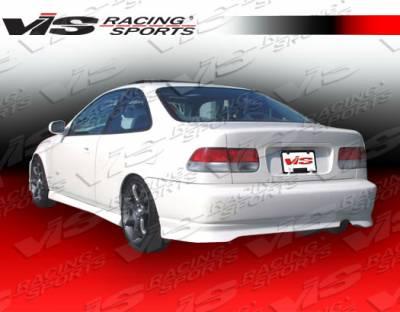 Civic 2Dr - Rear Bumper - VIS Racing. - Honda Civic 2DR VIS Racing Type R Rear Bumper - 96HDCVC2DTYR-002