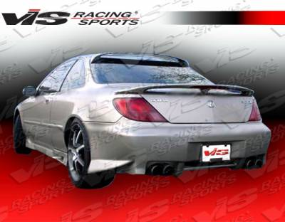 CL - Rear Bumper - VIS Racing - Acura CL VIS Racing ZD Rear Bumper - 97ACCL2DZD-002