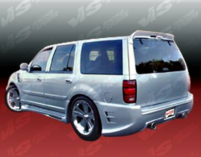 Expedition - Rear Bumper - VIS Racing - Ford Expedition VIS Racing Outcast Rear Bumper - 97FDEXP4DOC-002