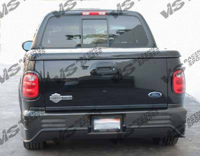 Expedition - Rear Bumper - VIS Racing - Ford Expedition VIS Racing Outlaw Rear Bumper - 97FDEXP4DOL-002