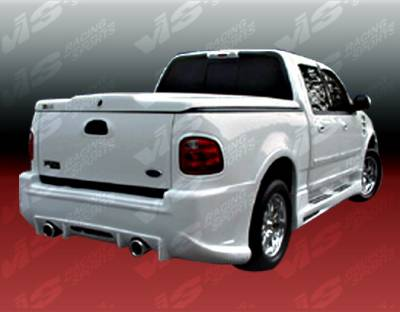 F150 - Rear Bumper - VIS Racing - Ford F150 VIS Racing Outcast Rear Bumper - 97FDF154DSCOC-002