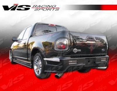 F150 - Rear Bumper - VIS Racing - Ford F150 VIS Racing Outlaw Rear Bumper - 97FDF154DSCOL-002