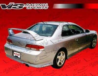 Prelude - Rear Bumper - VIS Racing - Honda Prelude VIS Racing Techno R-2 Rear Lip - 97HDPRE2DTNR2-012