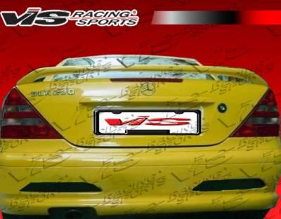 SLK - Rear Bumper - VIS Racing - Mercedes-Benz SLK VIS Racing Laser Rear Bumper - 97MER1702DLS-002