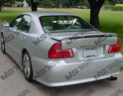 Diamante - Rear Bumper - VIS Racing - Mitsubishi Diamante VIS Racing VIP Rear Bumper - 97MTDIA4DVIP-002