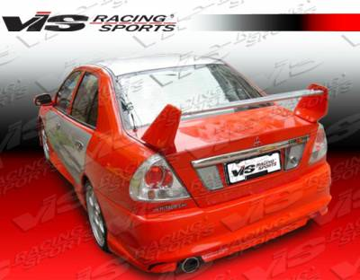 Mirage 4Dr - Rear Bumper - VIS Racing - Mitsubishi Mirage 4DR VIS Racing EVO 8 Rear Bumper - 97MTMIR4DEVO8-002