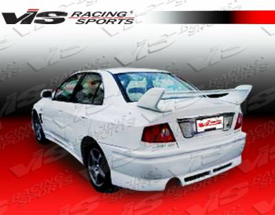 Mirage 4Dr - Rear Bumper - VIS Racing - Mitsubishi Mirage 4DR VIS Racing EVO 8 Widebody Rear Bumper - 97MTMIR4DJE8WB-002