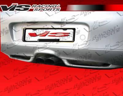 Boxster - Rear Bumper - VIS Racing - Porsche Boxster VIS Racing G Tech Rear Lip - 97PSBOX2DGTH-012