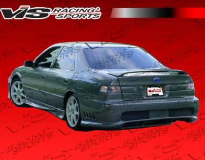 Camry - Rear Bumper - VIS Racing - Toyota Camry VIS Racing Kombat Rear Bumper - 97TYCAM4DKOM-002