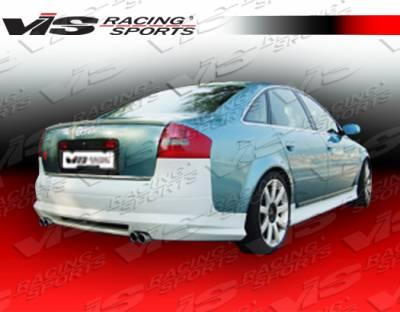 A6 - Rear Bumper - VIS Racing - Audi A6 VIS Racing Euro Tech Rear Bumper - 98AUA64DET-002