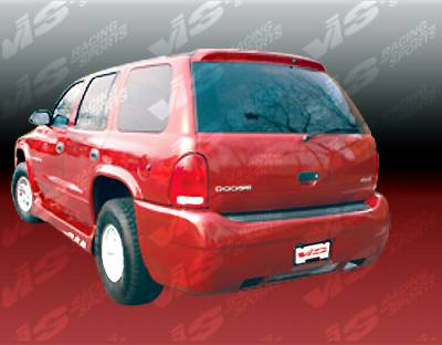 Durango - Rear Bumper - VIS Racing - Dodge Durango VIS Racing Outcast Rear Bumper - 98DGDUR4DOC-002