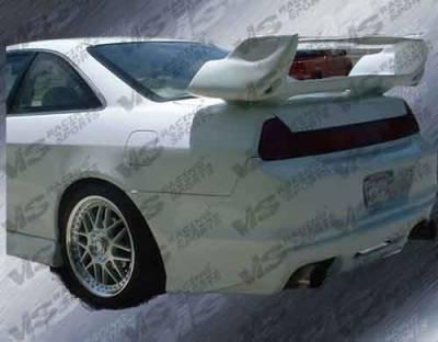 Accord 2Dr - Rear Bumper - VIS Racing - Honda Accord 2DR VIS Racing Cyber-2 Rear Bumper - 98HDACC2DCY2-002
