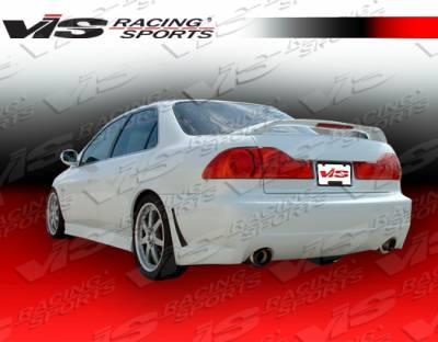 Accord 2Dr - Rear Bumper - VIS Racing - Honda Accord 2DR VIS Racing TSC-3 Rear Bumper - 98HDACC2DTSC3-002