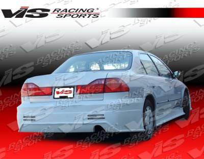Accord 4Dr - Rear Bumper - VIS Racing - Honda Accord 4DR VIS Racing Prodigy Rear Bumper - 98HDACC4DPRO-002