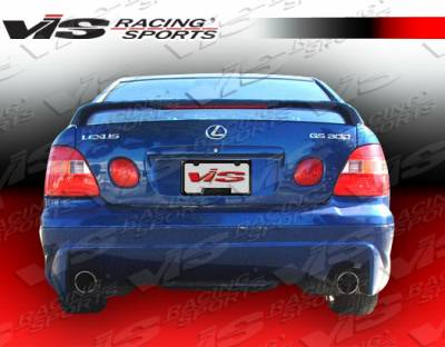 GS - Rear Bumper - VIS Racing - Lexus GS VIS Racing Cyber-1 Rear Bumper - 98LXGS34DCY1-002