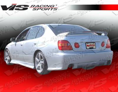 GS - Rear Bumper - VIS Racing - Lexus GS VIS Racing Cyber-2 Rear Bumper - 98LXGS34DCY2-002