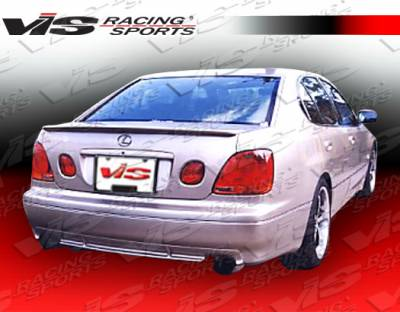 GS - Rear Bumper - VIS Racing - Lexus GS VIS Racing Techno R Rear Lip - 98LXGS34DTNR-012