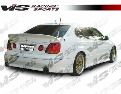 GS - Rear Bumper - VIS Racing - Lexus GS VIS Racing VIP Rear Lip - 98LXGS34DVIP-012