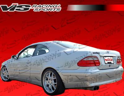 CLK - Rear Bumper - VIS Racing - Mercedes-Benz CLK VIS Racing B-Spec Rear Lip - 98MEW2082DBSC-012