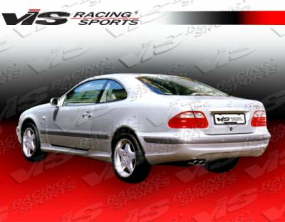 CLK - Rear Bumper - VIS Racing - Mercedes-Benz CLK VIS Racing Euro Tech Rear Bumper - 98MEW2082DET-002