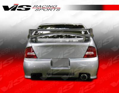 Altima - Rear Bumper - VIS Racing - Nissan Altima VIS Racing Z1 boxer Rear Bumper - 98NSALT4DZ1-002