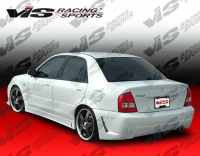 Corolla - Rear Bumper - VIS Racing. - Toyota Corolla VIS Racing TSC-3 Rear Bumper - 98TYCOR4DTSC3-002