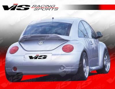Beetle - Rear Bumper - VIS Racing - Volkswagen Beetle VIS Racing C Tech Rear Lip - 98VWBEE2DCTH-012