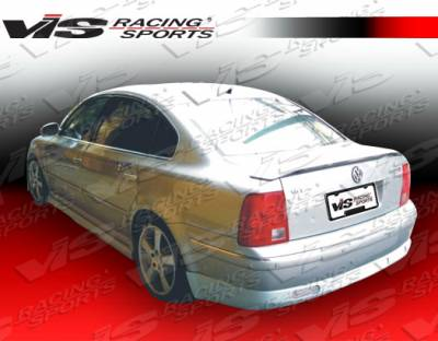 Passat - Rear Bumper - VIS Racing - Volkswagen Passat VIS Racing Max Rear Lip - 98VWPAS4DMAX-012