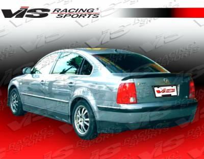 Passat - Rear Bumper - VIS Racing - Volkswagen Passat VIS Racing Rabiat Rear Lip - 98VWPAS4DRAB-012