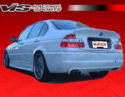 3 Series 4Dr - Rear Bumper - VIS Racing - BMW 3 Series VIS Racing CSL Rear Bumper - 99BME462DCSL-002