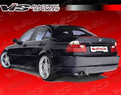 3 Series 4Dr - Rear Bumper - VIS Racing - BMW 3 Series VIS Racing Racing Design Rear Bumper - 99BME462DRDN-002