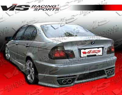 3 Series 2Dr - Rear Bumper - VIS Racing - BMW 3 Series 2DR VIS Racing Tachno Rear Bumper - 99BME462DTNO-002