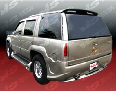 Escalade - Rear Bumper - VIS Racing - Cadillac Escalade VIS Racing Outcast Rear Bumper - 99CAESC4DOC-002