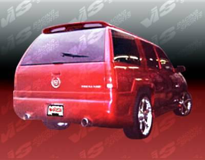 Escalade - Rear Bumper - VIS Racing. - Cadillac Escalade VIS Racing Outcast-2 Rear Bumper - 99CAESC4DOC2-002
