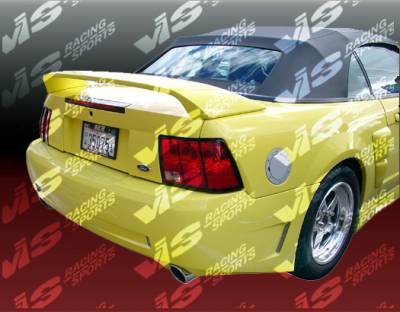 Mustang - Rear Bumper - VIS Racing - Ford Mustang VIS Racing Stalker-2 Rear Bumper - 99FDMUS2DSTK2-002
