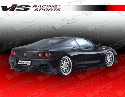 360 - Rear Bumper - VIS Racing - Ferrari 360 VIS Racing VIP Rear Bumper - 99FR3602DVIP-002