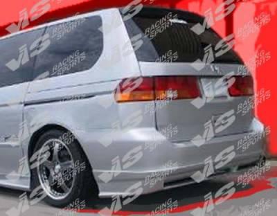 Odyssey - Rear Bumper - VIS Racing - Honda Odyssey VIS Racing Tracer Rear Bumper - 99HDODY4DTRA-002