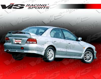 Galant - Rear Bumper - VIS Racing - Mitsubishi Galant VIS Racing VR-4 Rear Lip - 99MTGAL4DVR4-012