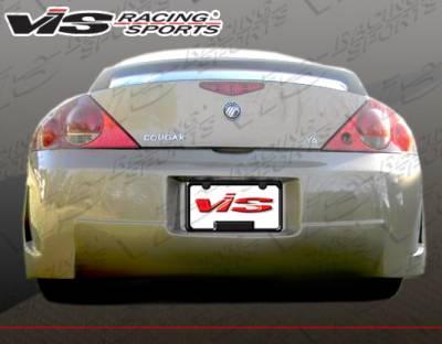 Cougar - Rear Bumper - VIS Racing - Mercury Cougar VIS Racing TSC 3 Rear Bumper - 99MYCOU2DTSC3-002