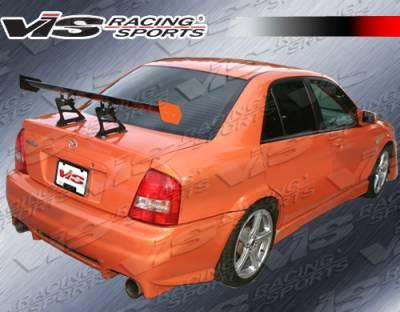 Protege - Rear Bumper - VIS Racing - Mazda Protege VIS Racing Evo 2 Rear Bumper - 99MZ3234DEVO2-002